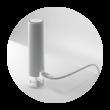 UBiQUiTi Access Point - UAP-FLEXHD - 300/1733Mbit, 802.3af PoE, 1 GbitLAN, Wave2 kültéri, vízálló