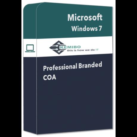Windows 7 Professional branded COA