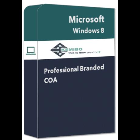 Windows 8 and 8.1 Professional COA