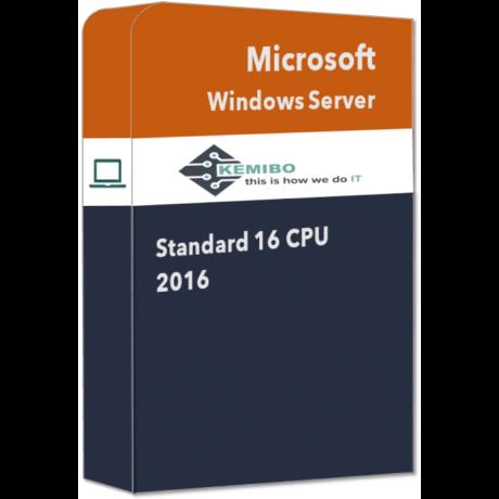 Windows Server Standard 2016 16 CPU OEM