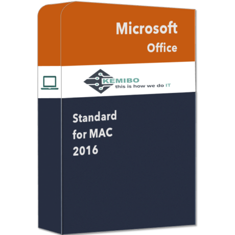 Office Standard for Mac 2016