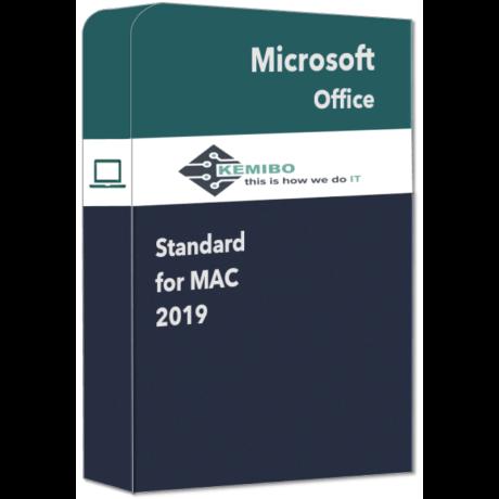 Office Standard for Mac 2019
