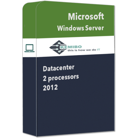 Windows Server 2 Proc. 2012 Datacenter