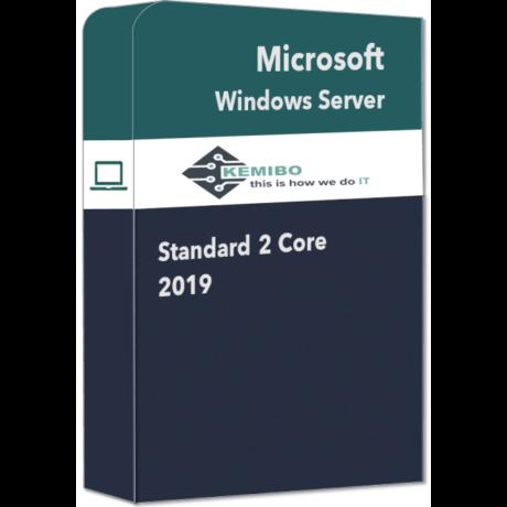 Windows Server 2019 Standard 2 core