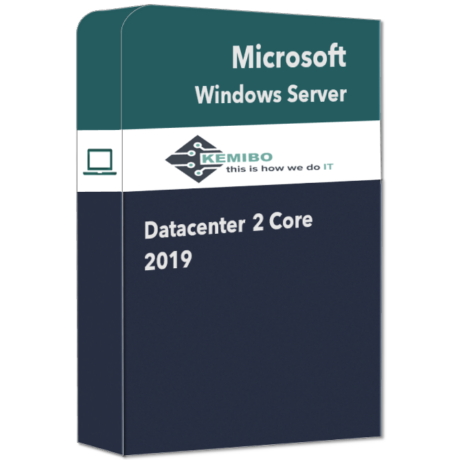 Windows Server 2019 DataCenter 2 core