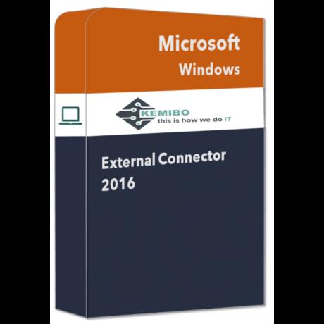 Windows External Connector 2016