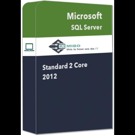 SQL Server Standard 2 Core 2012