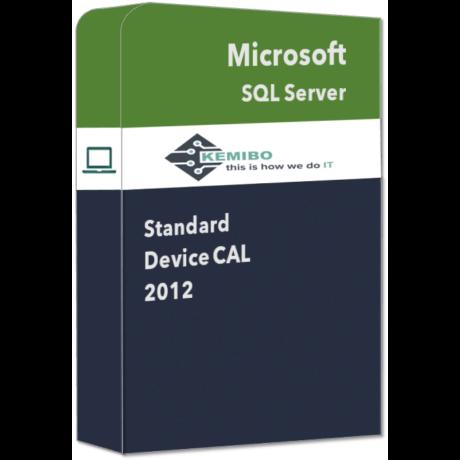 SQL Server Standard 2012 Device CAL