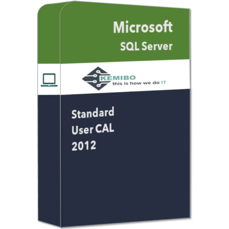 SQL Server Standard 2012 User CAL