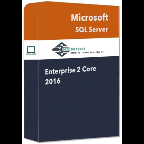 SQL Server Enterprise 2 Core 2016
