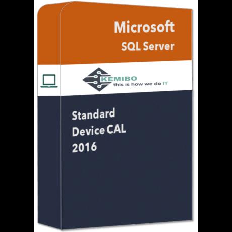 SQL Server Standard 2016 Device CAL