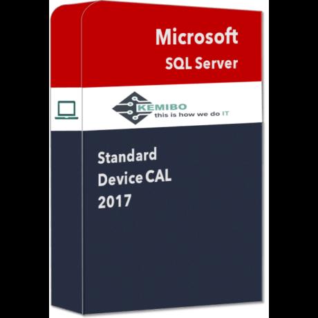 SQL Server Standard 2017 Device CAL