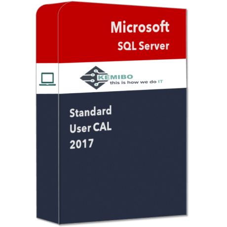 SQL Server Standard 2017 User CAL
