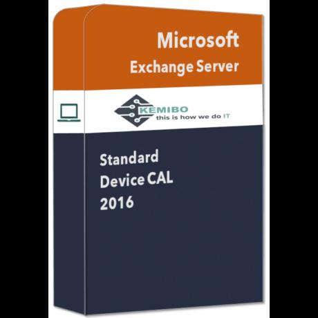 Exchange Standard 2016 Device CAL