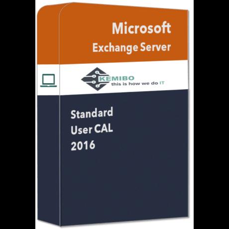 Exchange Standard 2016 User CAL