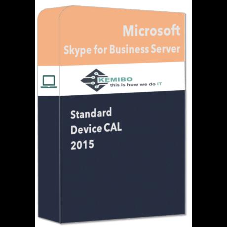Skype for Business Server Standard 2015 Device CAL