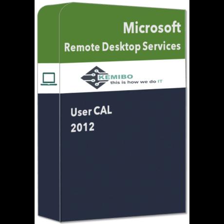Remote Desktop Services User CAL 2012