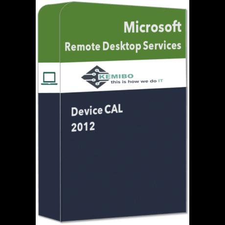 Remote Desktop Services Device CAL 2012