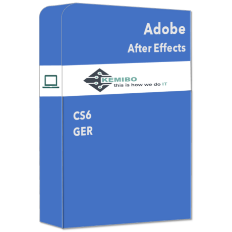 After Effects CS6 GER