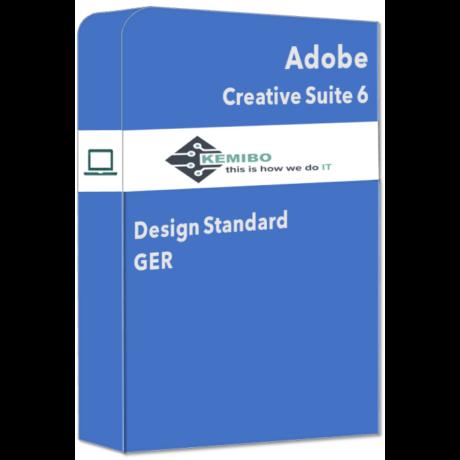 Adobe Creative Suite 6 Design Standard GER