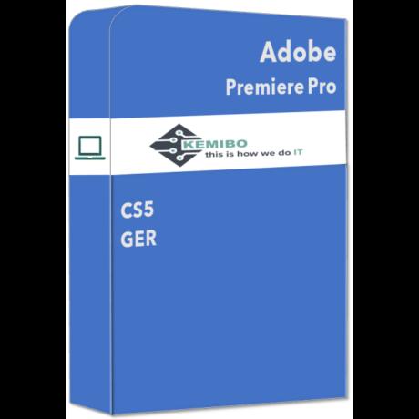 Adobe Premiere Pro CS5 GER