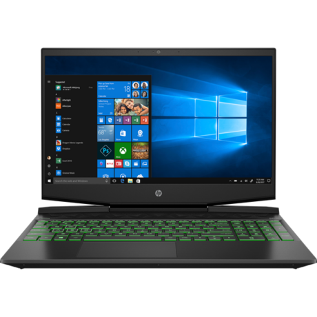 "HP Pavilion Gaming 15-dk0005nh, 15.6"" FHD AG IPS, Core i7-9750H, 16GB, 512GB SSD, GF GTX 1660Ti 6GB, Win 10,Shadow Black"