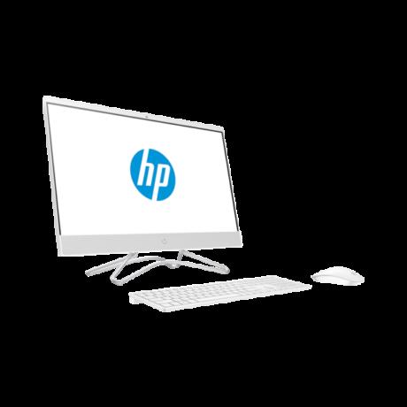 """HP AIO 24-f0022nn, 23.8"""" FHD AG UWVA, Core i5-9400T, 8GB, 512GB SSD, Nvidia GT MX110 2GB, fehér"""
