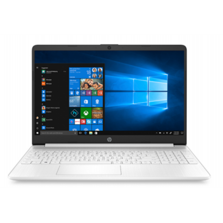 "HP 15s-fq1027nh, 15.6"" FHD AG, Core i3-1005G1, 4GB, 256GB SSD, Win 10, fehér"