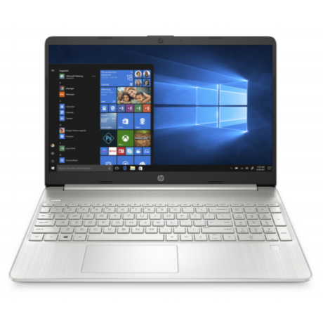 "HP 15s-eq0000nh, 15.6"" FHD AG, AMD Ryzen3 3200U, 4GB, 256GB SSD, Win 10, ezüst"