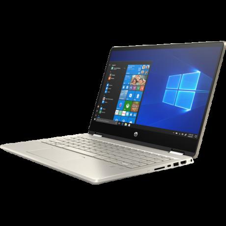 """HP Pavilion x360 14-dh1005nh, 14"""" FHD AG IPS, Core i5-10210U, 8GB, 256GB SSD, Nvidia GF MX130 2GB, Win 10, arany"""