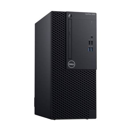 DELL PC Optiplex 3070 MT, Intel Core i3-9100 (3.60GHz), 8GB, 1TB HDD, Win 10 Pro