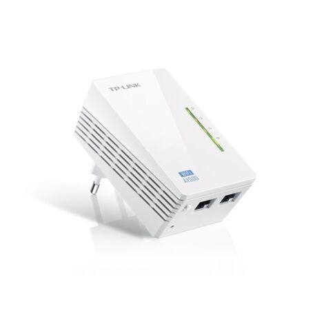 TP-LINK Powerline AV500 2x100Mbps + Wireless N-es 300Mbps, TL-WPA4220