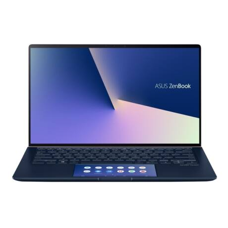 "ASUS NB ZenBook UX434FLC-A5216T, 14""  FHD, I5-10210U (4,2GHz), 16GB, 256GB PCIE, NV MX 250 2GB, Win 10, Kék"