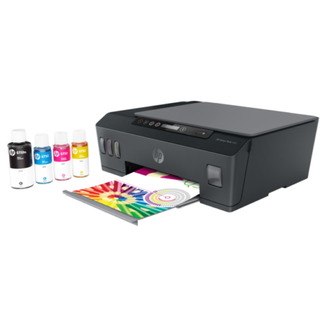 HP Tintasugaras MFP NY/M/S  Smart Tank 500 tintatartályos multifunkciós nyomtató, USB 2.0, A4 11lap/perc(ISO)