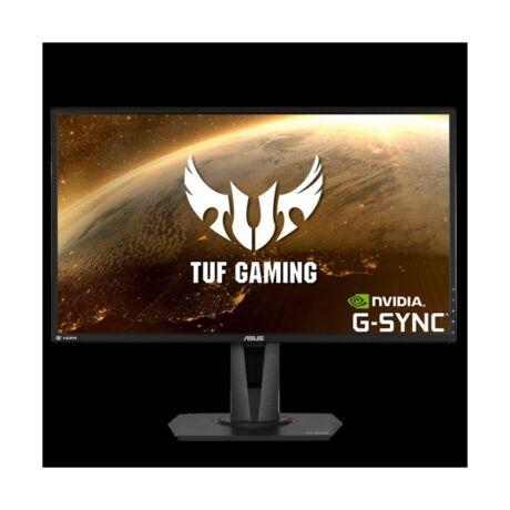"ASUS VG27AQ GAMING LED Monitor 35"" IPS 2560 x 1440, 16:9; HDMI/Displayport, hangszóró"