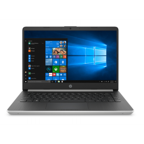 "HP 14s-dq1002nh, 14"" FHD AG IPS, Core i3-1005G1, 4GB, 256GB SSD, Win 10, ezüst"