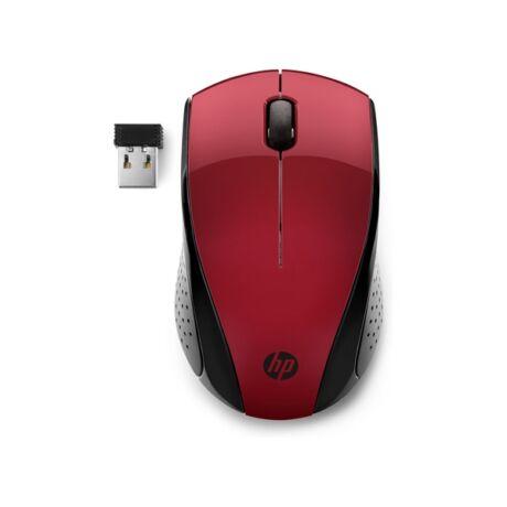 HP Vezeték nélküli Egér 220, piros